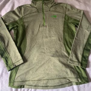 Green Turtle Neck Pull Over